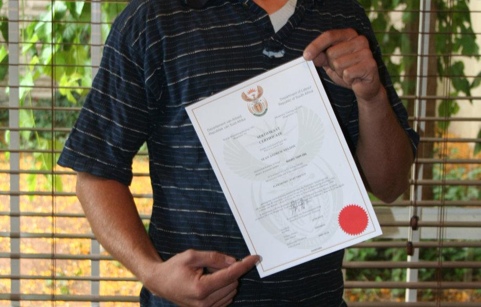 Renkalec Learner With Red Seal Trade Test Certificate Renkalec
